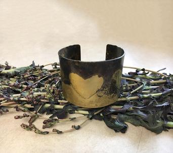 Lavender Love Cuff