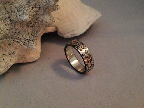 Gold Flake Ring
