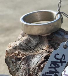 Men's Textured Metal Ring