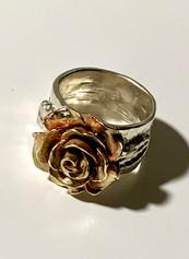 Blushing Bronze City Of Roses Ring