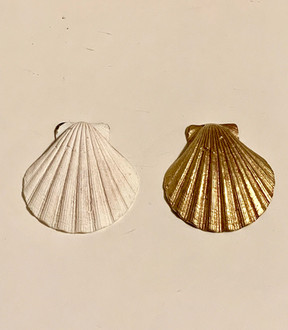 Gold Plated Sea Shell