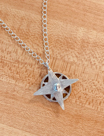 Neverland Compass Star Necklace