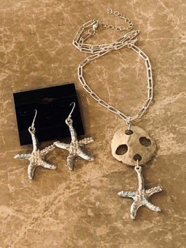 Star Fish Jewerly Set
