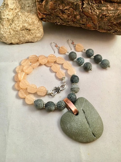 Earth Inspired Necklace & Earrings