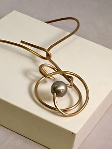 Wire Maze Necklace