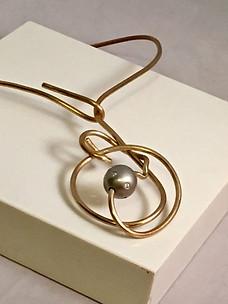 Wire Maze Necklace