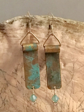 Turquoise Twins Earrings