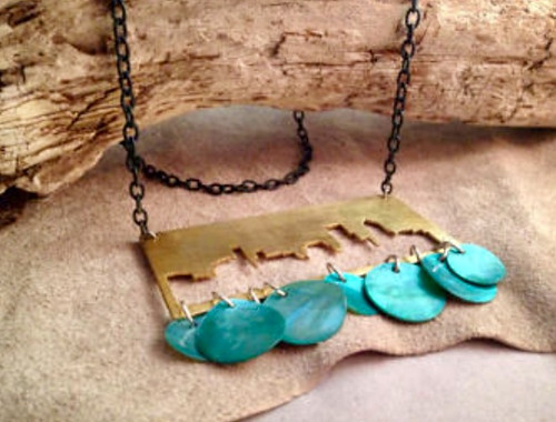 City by the Sea Necklace