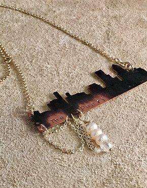 The Pearl Skyline Necklace