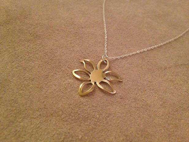 On a Sunbeam Necklace