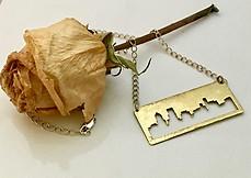 Portland Punch Out Cityscape Necklace