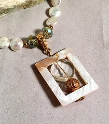 Framed Elegance Necklace