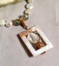 Framed Elegance Necklace