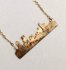 Portland Cityscape Necklace