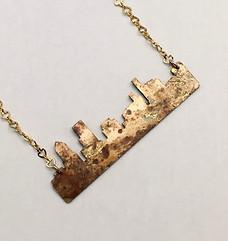 Portland Cityscape Necklace