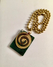 The Coiled Labyrinth Necklace