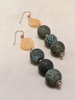 Rock Solid Dangle Earrings