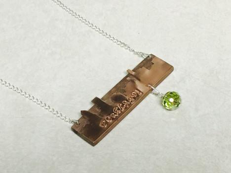 Peridot Portland Necklace