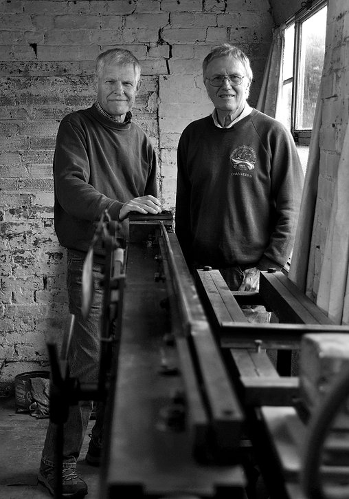 © Nick Fallowfield-Cooper Champmans of Ware rod builders