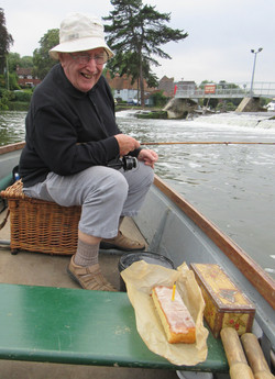 A birthday outing in the punt