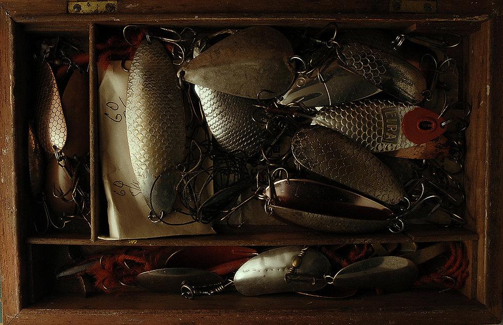 © Nick Fakllowfield-Cooper Vintage pike spoons