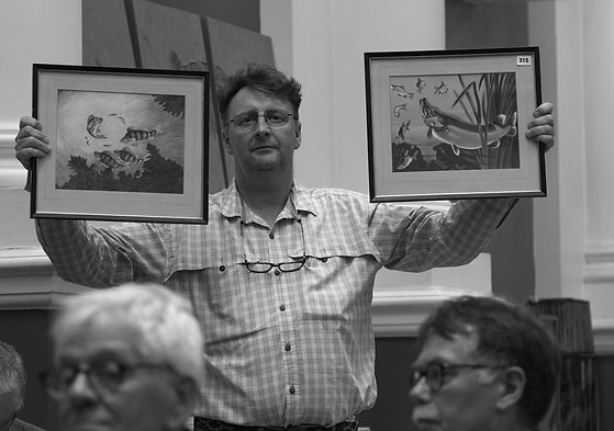 © Nick Fallowfield-Cooper Angling Auctions Chiswick London