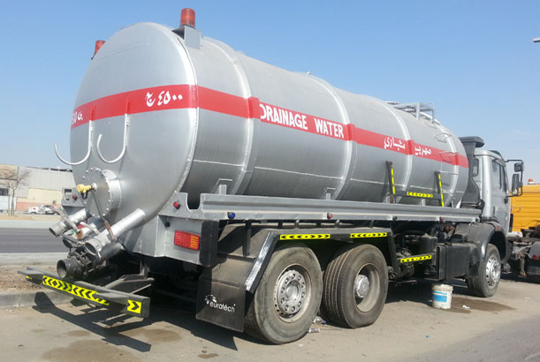 Drainage water tanker