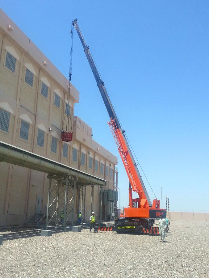 25 ton cranes