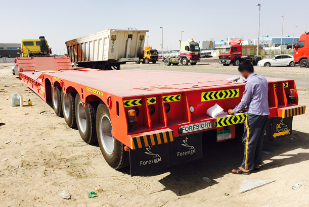 Lowbed Truck 100 ton