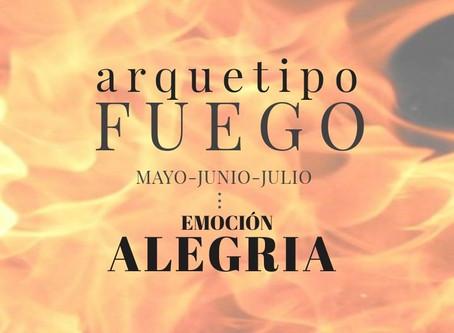 ARQUETIPO FUEGO  - Emoción:  ALEGRIA
