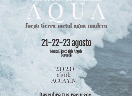[AQUA]  Encuentro Residencial Verano  21-22-23 Agosto -  Bergadà (Bcn)