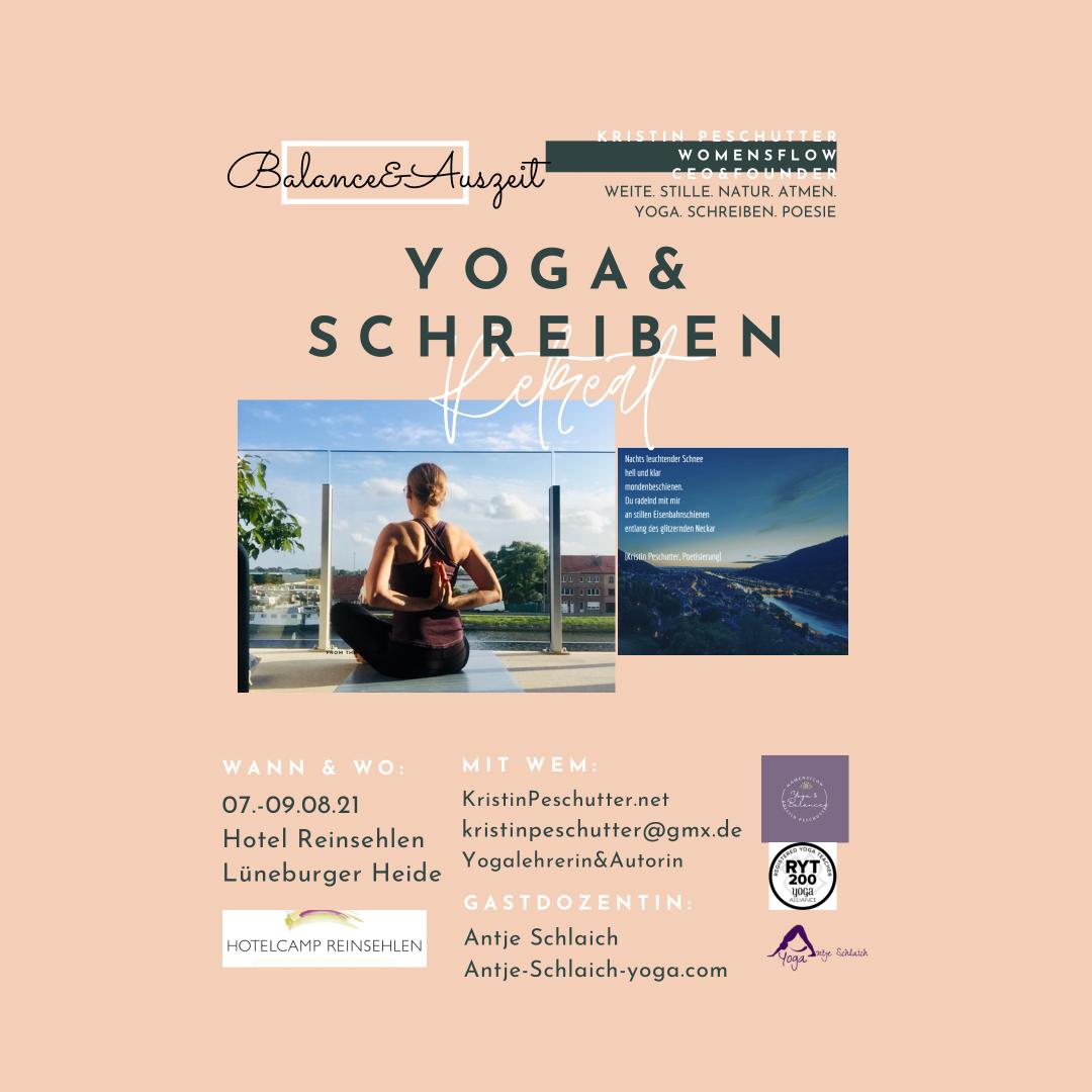 Yoga&Schreiben-Retreat in der Heide