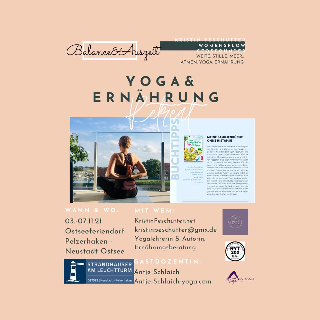 Yoga&Ernährungs-Retreat am Meer