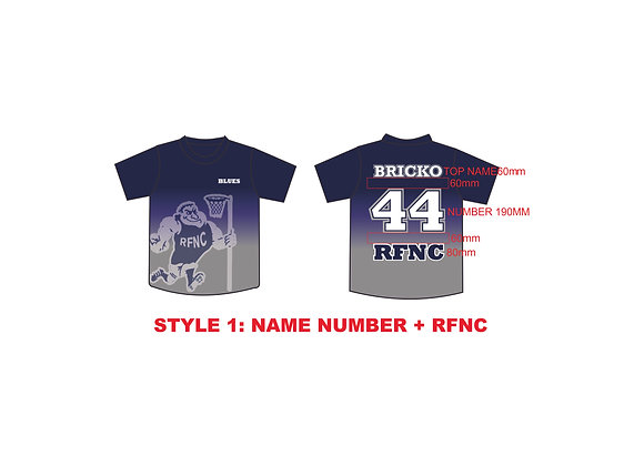 RFNC TRAINING  TEE #STYLE 1-SHORT SLEEVE