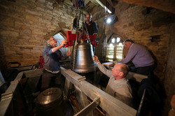 Installing Bells at Pillerton