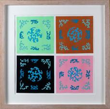 Composition V (Tricky Blue), 2018