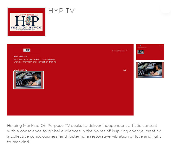 HMP TV Now on Roku