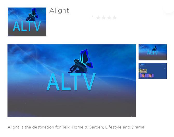 Alight TV Now on Roku