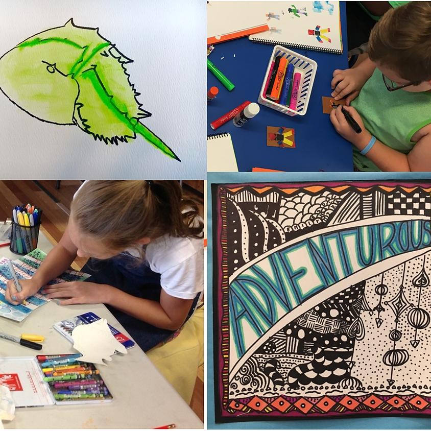 EXPLORE ART! 2D Cape Cod Summer - with Lenore Lyons / Ages 7-12