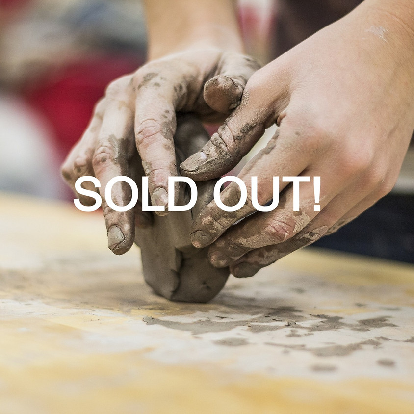 Pottery (Ages 12 & Up) CLAY FEST with Jenn Reed - SOLD OUT
