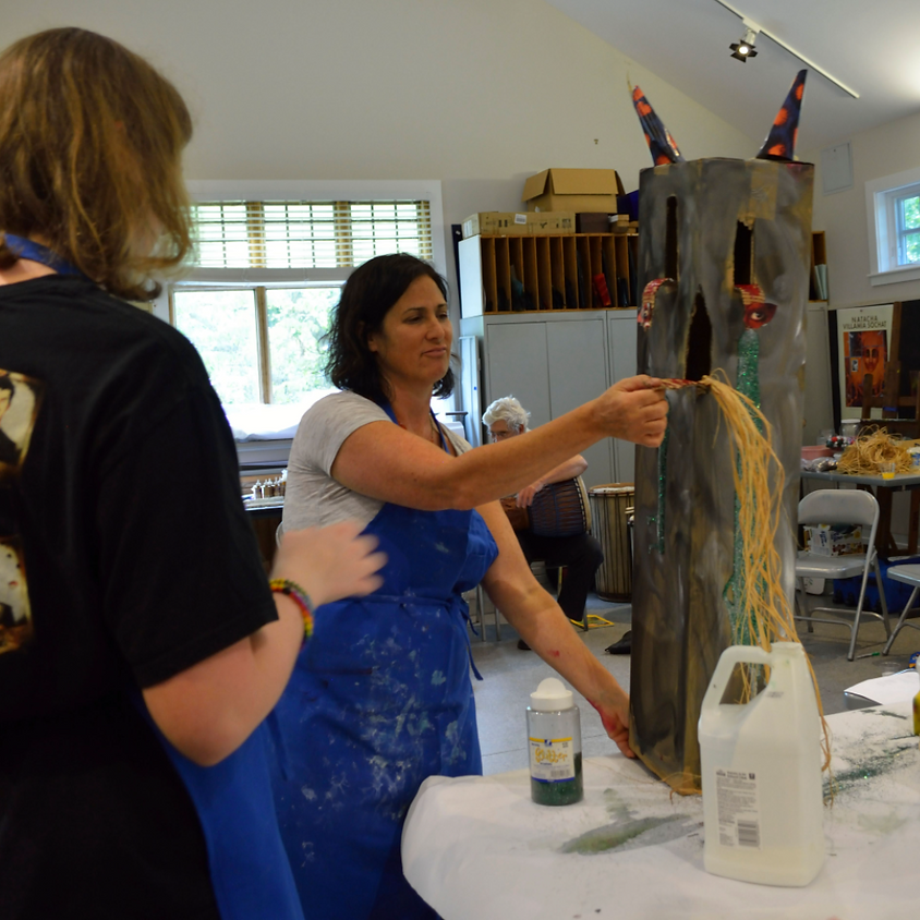 Papier Maché Monsters One - August 15, Noon to 4 pm