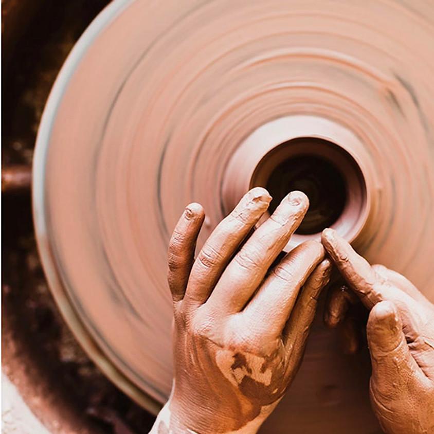 Pottery with Nat Doane - Wednesdays, January 6  - February 24  (8 sessions)