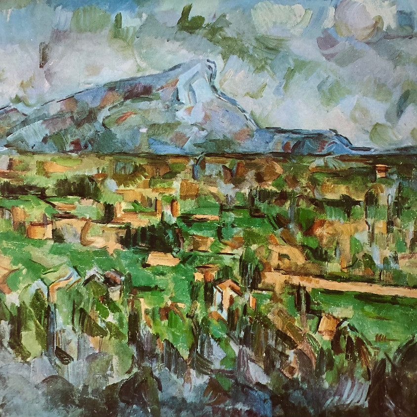 """Illustrated Lecture: """"Comprise, Revise, Open Your Eyes: On Cézanne's Mountain Motif and More"""" with artist Kate Nelson"""