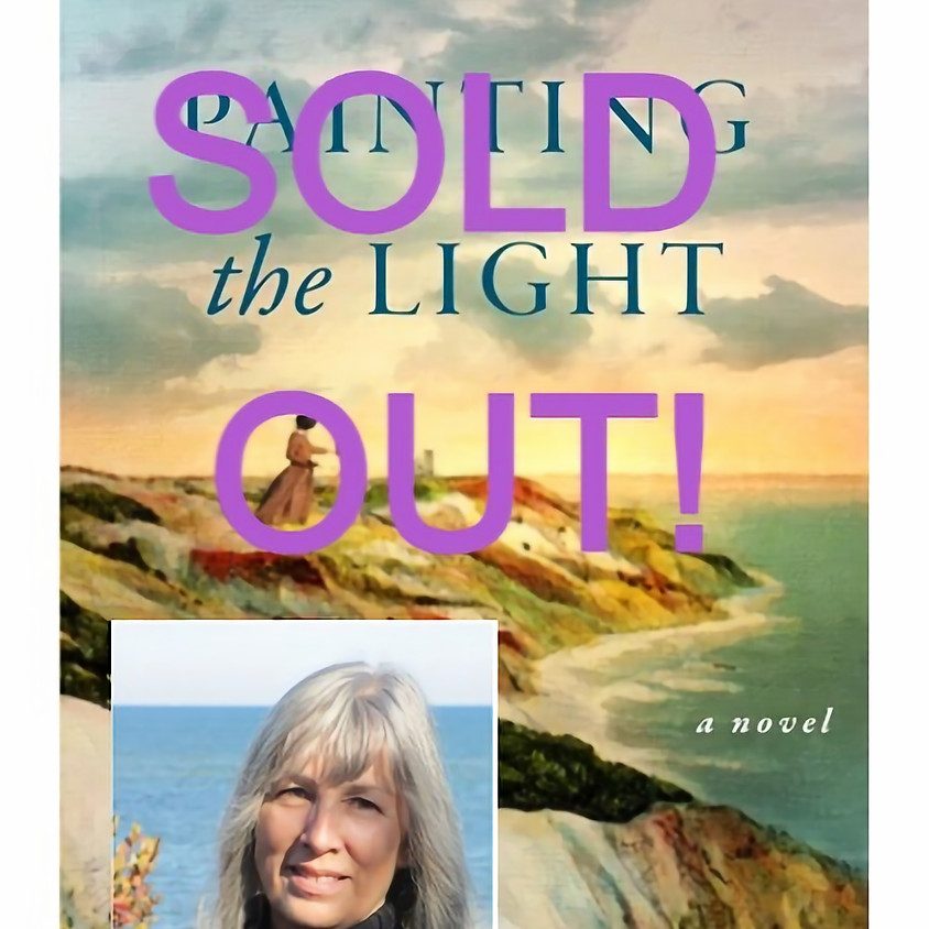 """SOLD OUT! """"Painting The Light"""" by Sally Gunning - Author Talk, Q& A and Book Signing"""