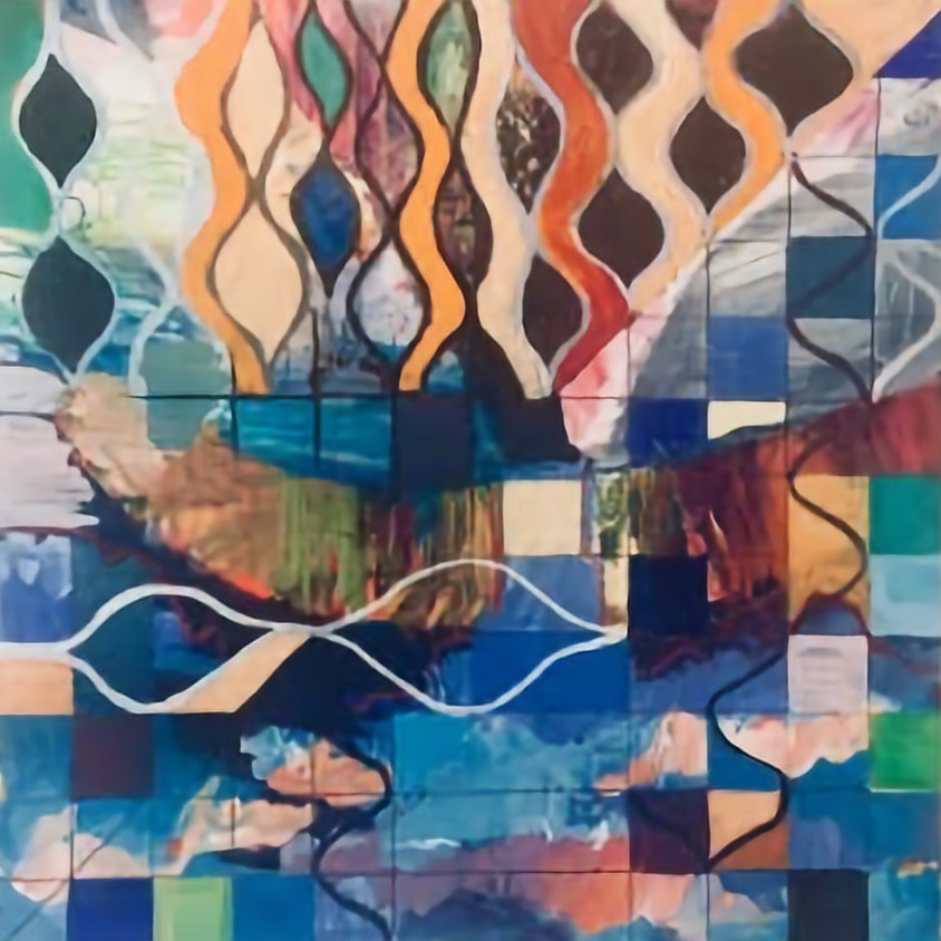 Abstract Painting with Mellissa Morris - on Zoom