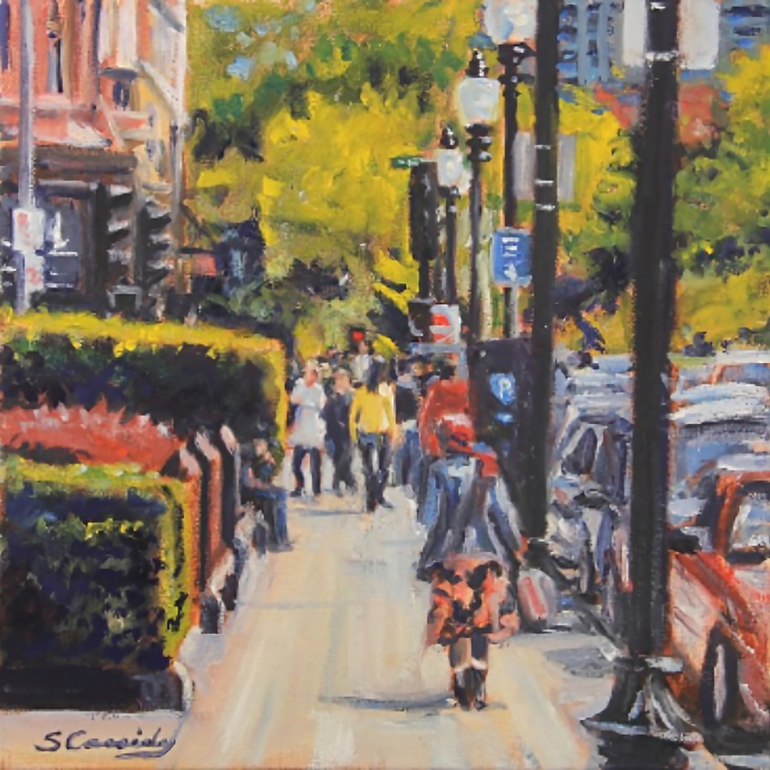 One on One Oil Painting with Sean Cassidy - on Zoom