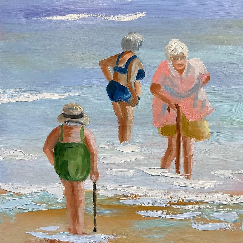 Exploring Oil Painting (I) with Patty Barnes - Thursdays, February 4 - February 25