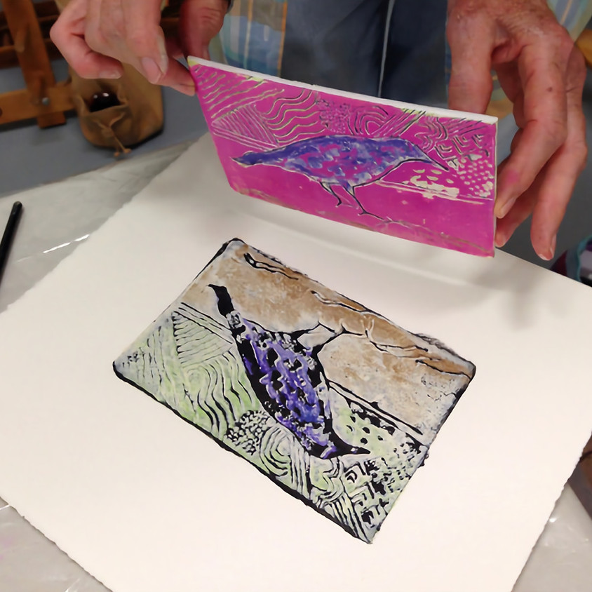 Monoprint / Monotype - A 3-Day Workshop with Alice Galick