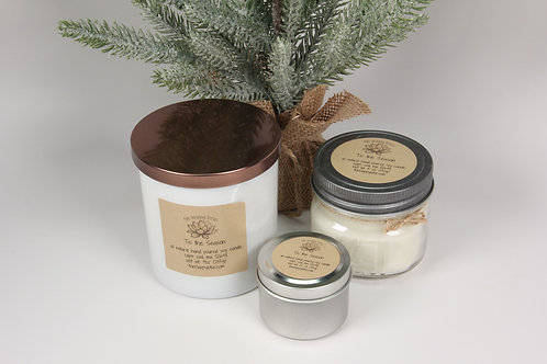Soy Candle - small tin ONLY