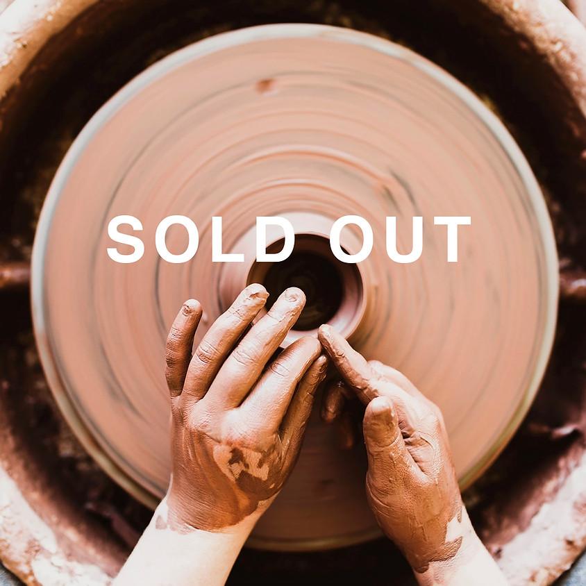 Pottery with Nat Doane - Mondays January 4 - March 1, 2021